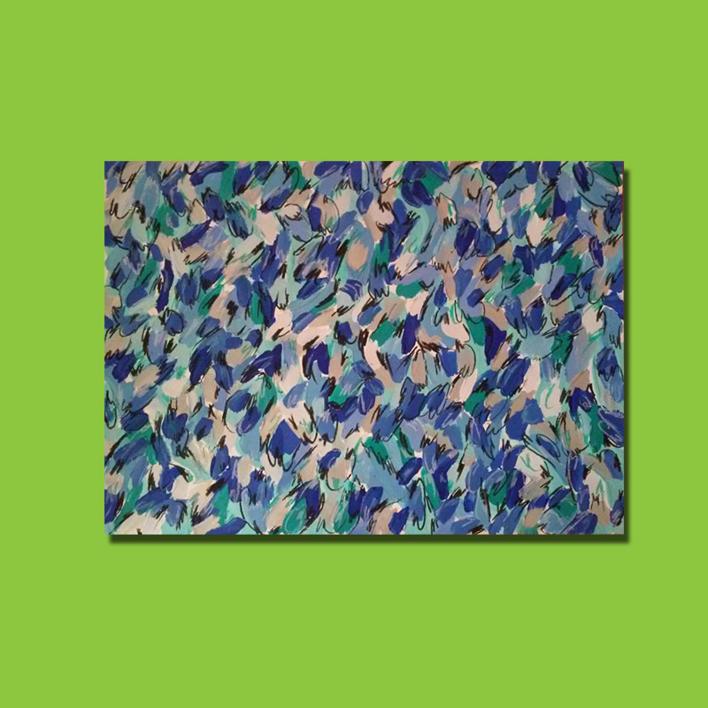 Blue Bayou |Pintura de Rocío Cervera | Compra arte en Flecha.es