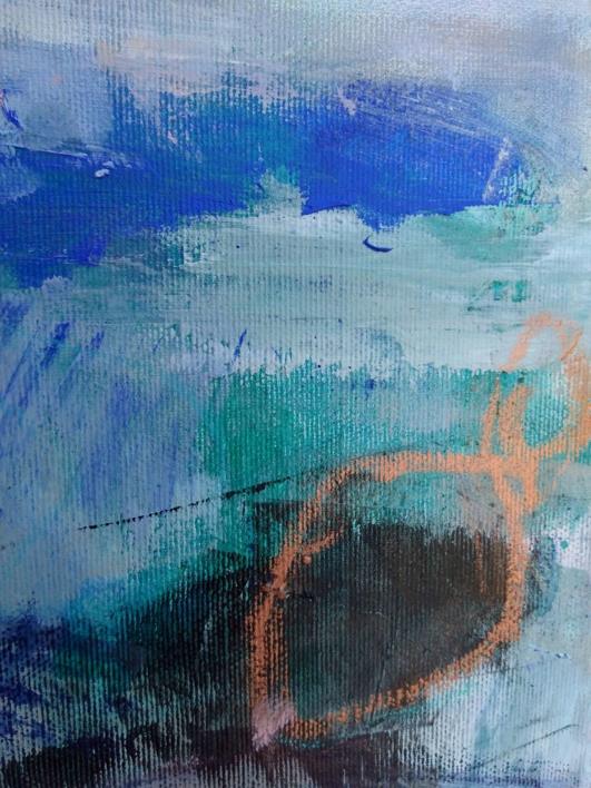 Distant Horizons 4 | Pintura de Magdalena Morey | Compra arte en Flecha.es