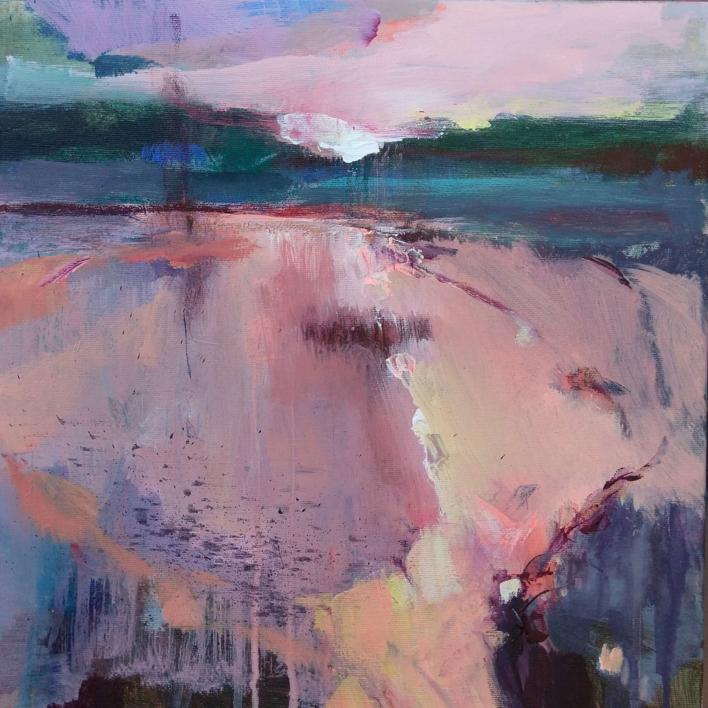 Light and Promise on the Horizon 1 |Pintura de Magdalena Morey | Compra arte en Flecha.es