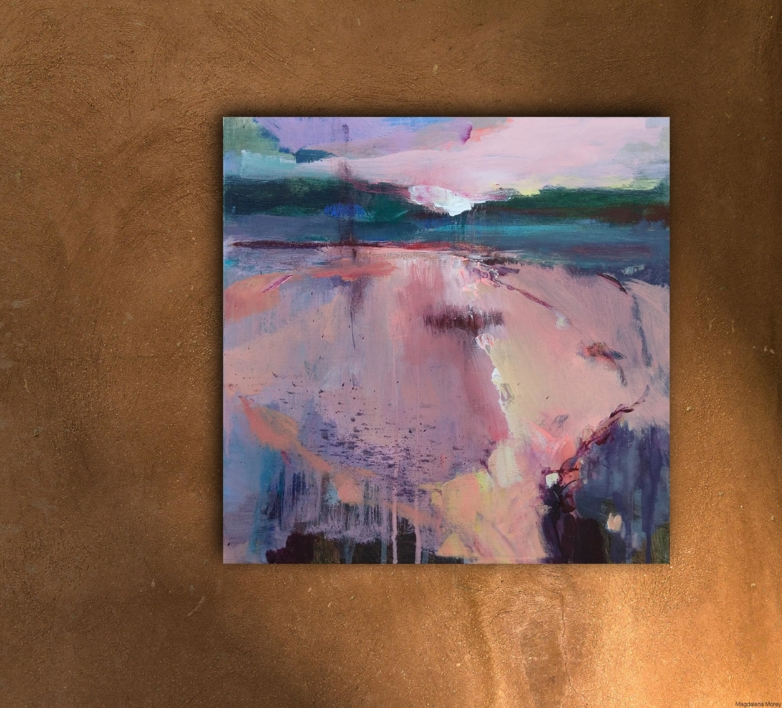 Light and Promise on the Horizon 1 | Pintura de Magdalena Morey | Compra arte en Flecha.es