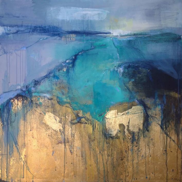 Abstract Reverie 2 |Pintura de Magdalena Morey | Compra arte en Flecha.es