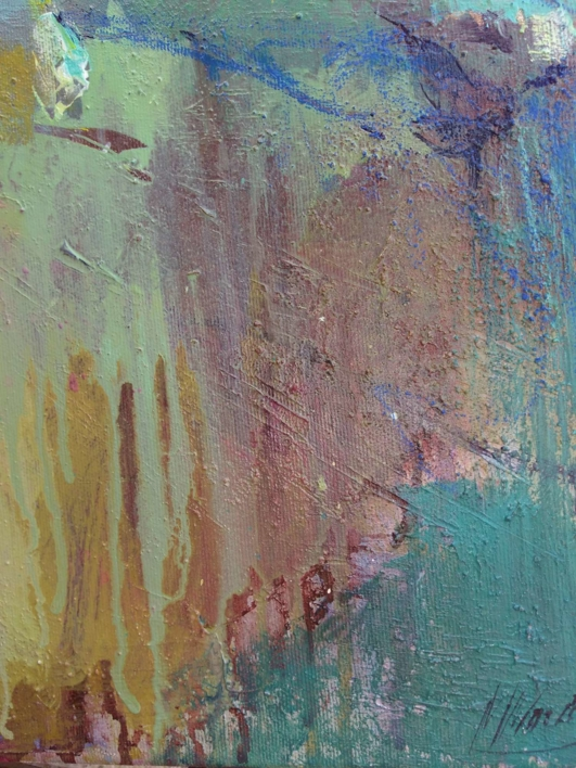 Viridian | Pintura de Magdalena Morey | Compra arte en Flecha.es