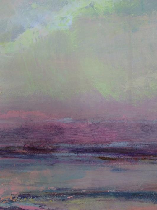Dawn Mists   Pintura de Magdalena Morey   Compra arte en Flecha.es