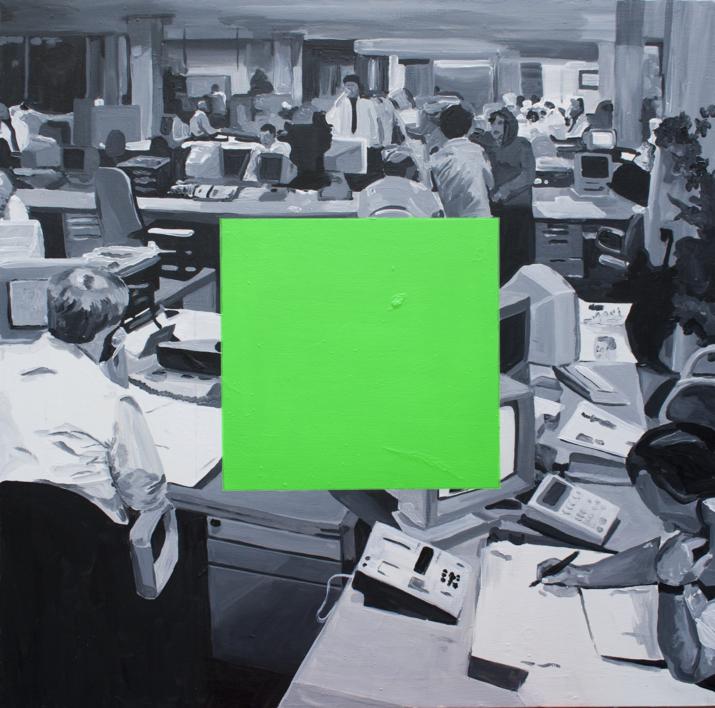 Pixel muerto |Pintura de Alejandra de la Torre | Compra arte en Flecha.es