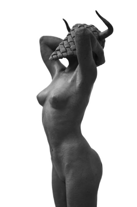 La máscara del sueño |Escultura de Jorge Martín | Compra arte en Flecha.es