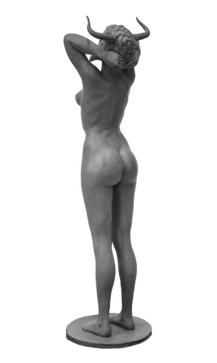 La máscara del sueño | Escultura de Jorge Martín | Compra arte en Flecha.es