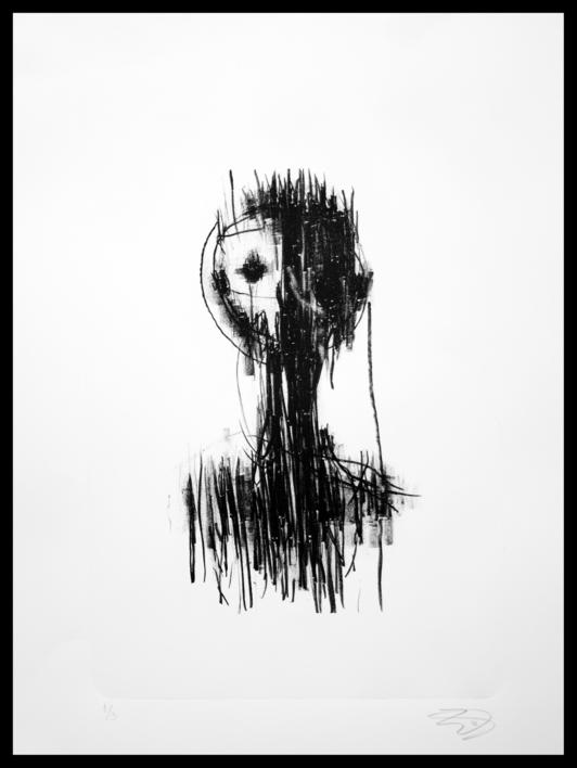 Anima cannibal  Obra gráfica de Jorge Martín   Compra arte en Flecha.es