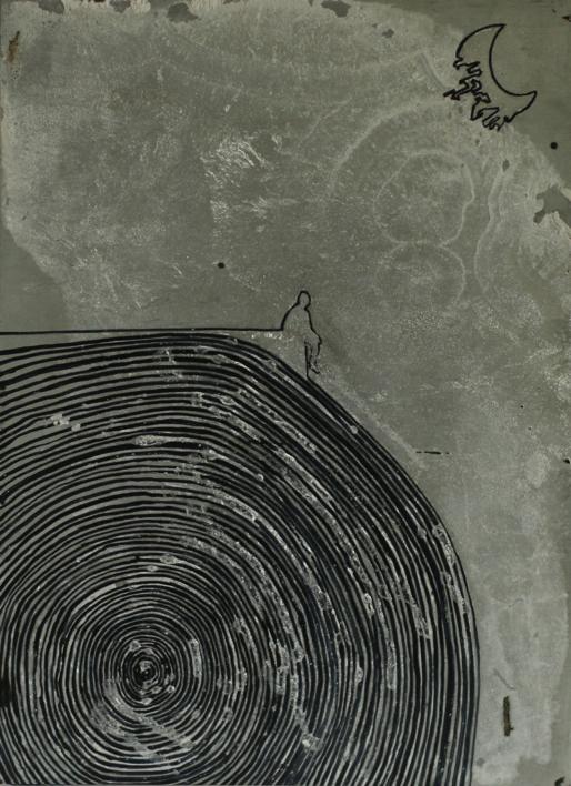 Momentos (in)conscientes IV |Dibujo de Alejandro Ontiveros Robles | Compra arte en Flecha.es