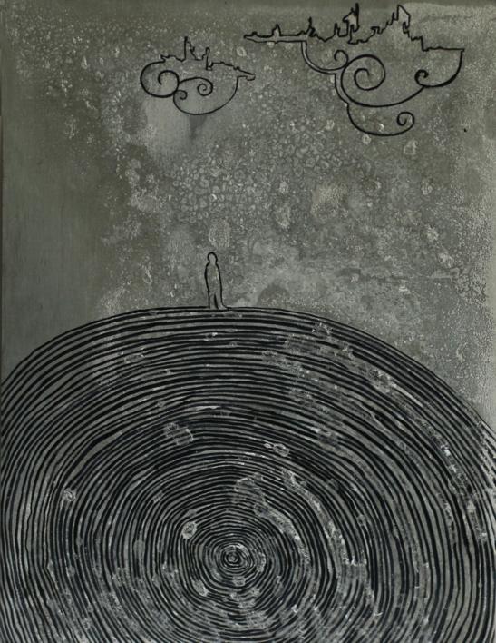 Momentos (in)conscientes V |Dibujo de Alejandro Ontiveros Robles | Compra arte en Flecha.es
