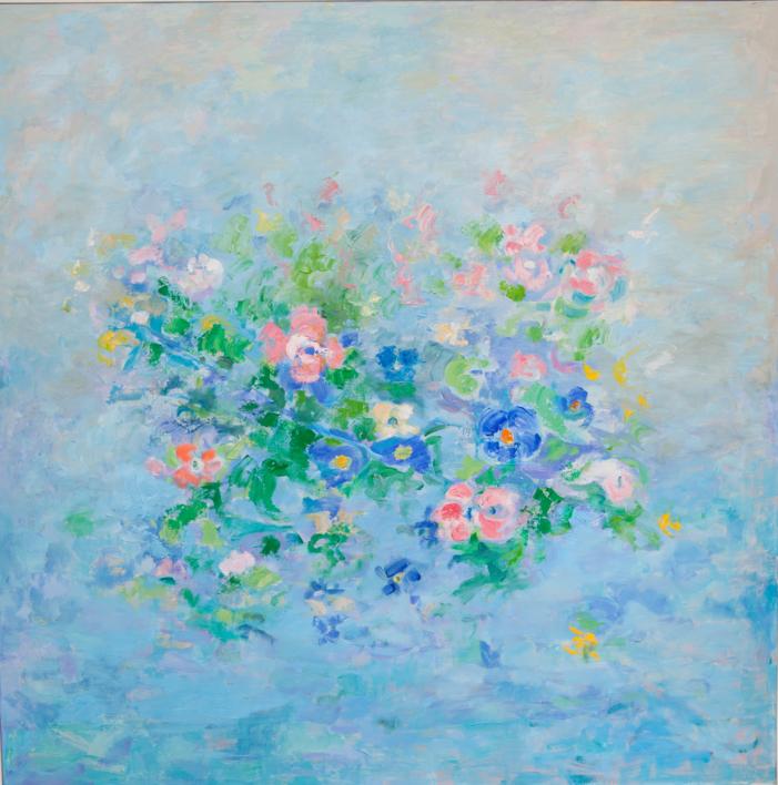 En la primavera |Pintura de Guillermo Serrano de Entrambasaguas | Compra arte en Flecha.es