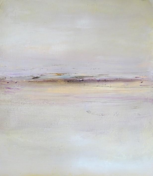 Cae la nieve |Pintura de Esther Porta | Compra arte en Flecha.es