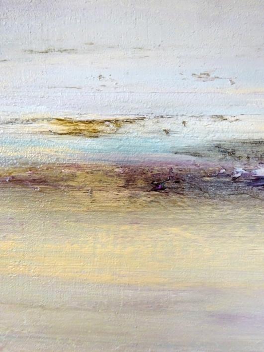 Cae la nieve | Pintura de Esther Porta | Compra arte en Flecha.es