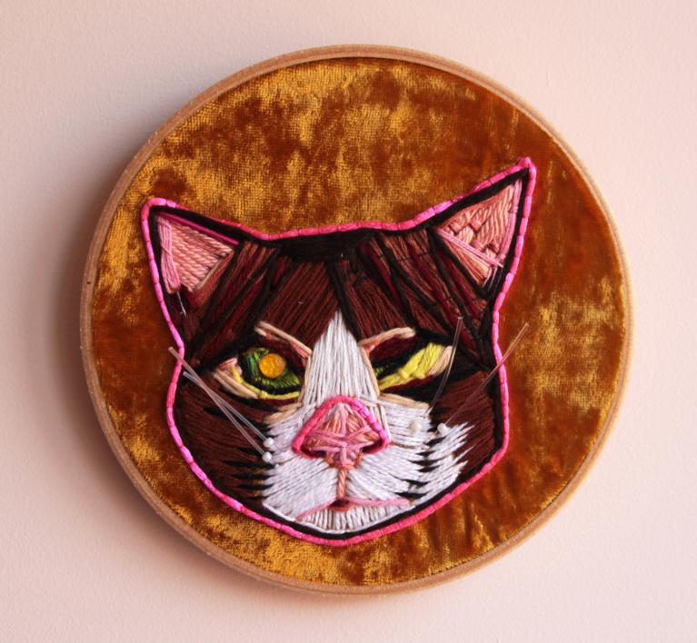Gato  Escultura de Ángeles Romo   Compra arte en Flecha.es