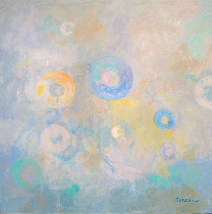 Concentración |Pintura de Guillermo Serrano de Entrambasaguas | Compra arte en Flecha.es