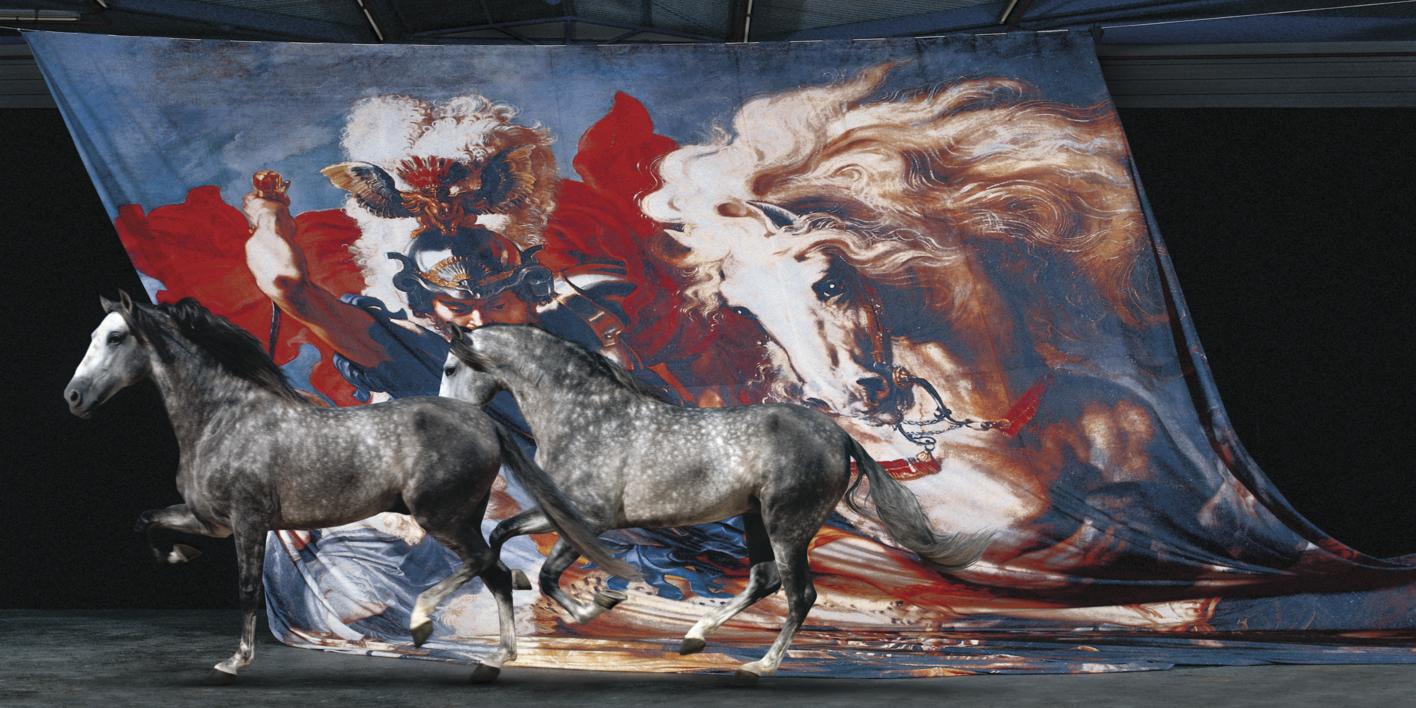 Lucha de San Jorge con el dragón |Fotografía de Peter Müller Peter | Compra arte en Flecha.es