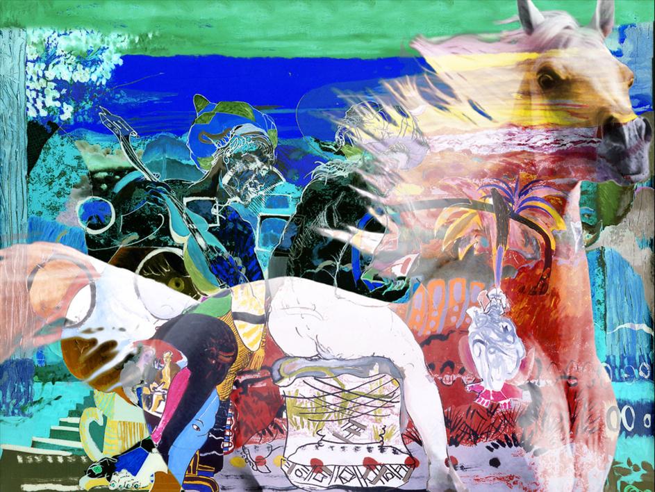 La tradición equina |Obra gráfica de Peter Müller Peter | Compra arte en Flecha.es