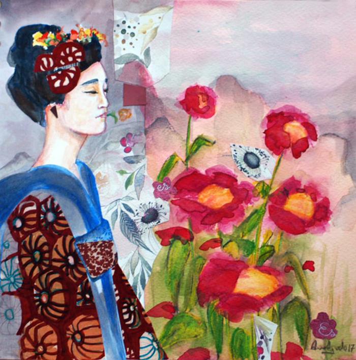 Sin título |Collage de Ana Agudo | Compra arte en Flecha.es