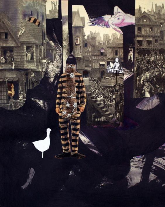 Preso 53 |Collage de Ana Agudo | Compra arte en Flecha.es