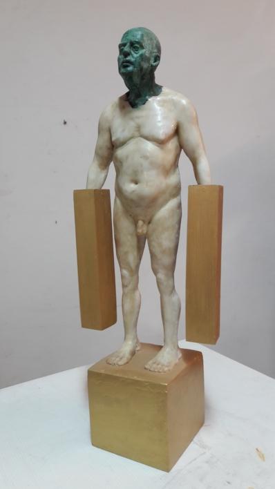 Hommo Aurum I  Escultura de Francisco Hernández Díaz   Compra arte en Flecha.es