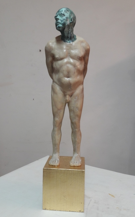Hommo Aurum II  Escultura de Francisco Hernández Díaz   Compra arte en Flecha.es