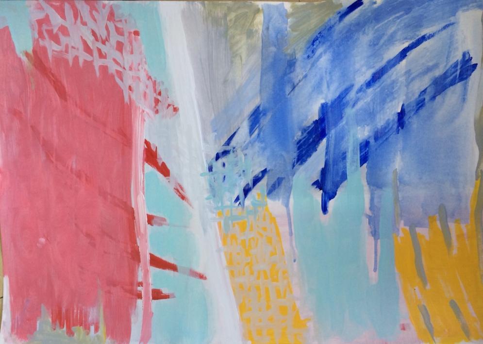CHILDHOOD I |Pintura de Iraide Garitaonandia | Compra arte en Flecha.es