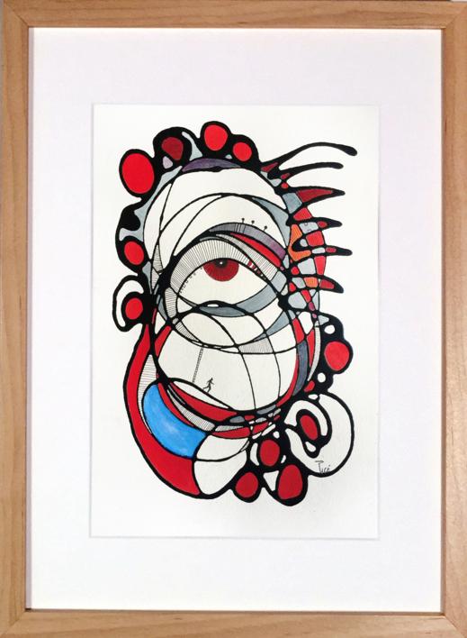 EL SECRETO ESTÁ EN MIRAR |Pintura de RAFAEL PICO | Compra arte en Flecha.es