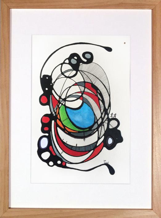 VAN DETRÁS DE TI |Pintura de RAFAEL PICO | Compra arte en Flecha.es