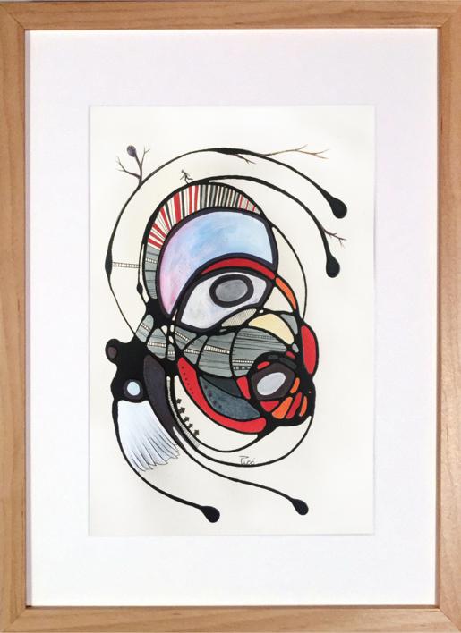 SIEMPRE AL REVÉS |Pintura de RAFAEL PICO | Compra arte en Flecha.es