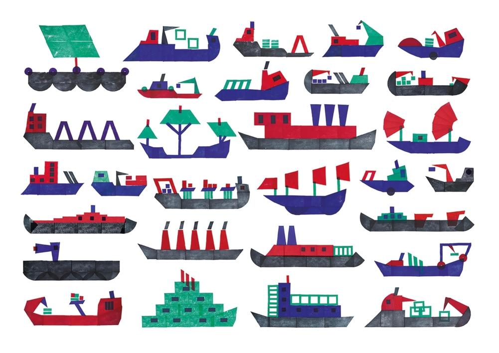 Barcos |Digital de Teresa Arroyo Corcobado | Compra arte en Flecha.es