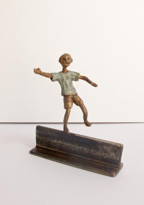 Equilibrios - IV |Escultura de Ana Valenciano | Compra arte en Flecha.es