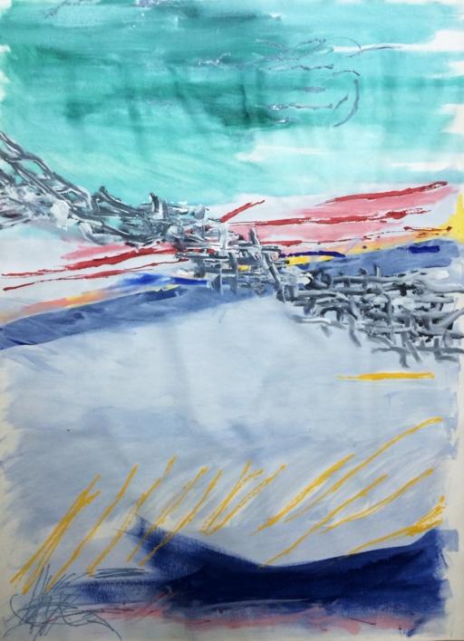 VERDE |Pintura de Iraide Garitaonandia | Compra arte en Flecha.es