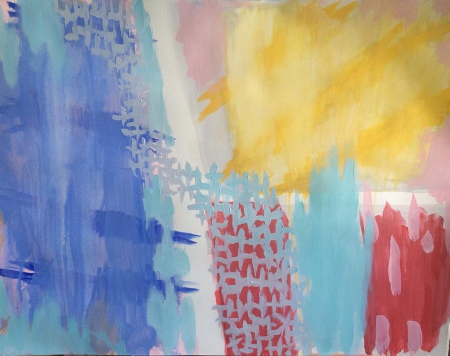 CHILDHOOD III |Pintura de Iraide Garitaonandia | Compra arte en Flecha.es