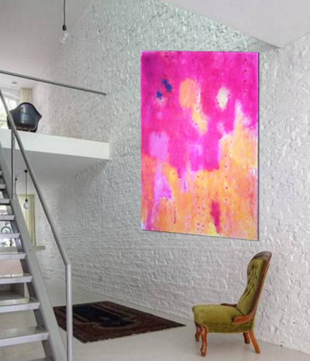 Contracorriente   Pintura de Luis Medina   Compra arte en Flecha.es