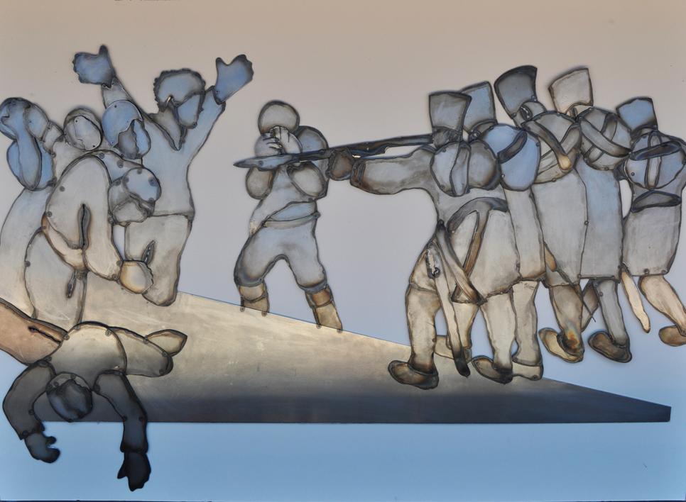 El 3 de Mayo. |Escultura de Jenifer Carey | Compra arte en Flecha.es