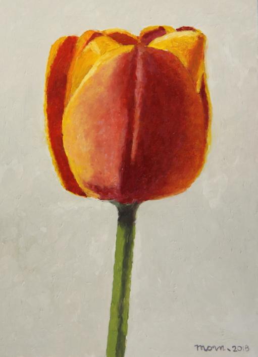 Tulip I |Pintura de Miguel Ortega Mesa | Compra arte en Flecha.es