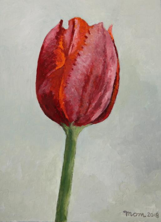Tulip II  Pintura de Miguel Ortega Mesa   Compra arte en Flecha.es