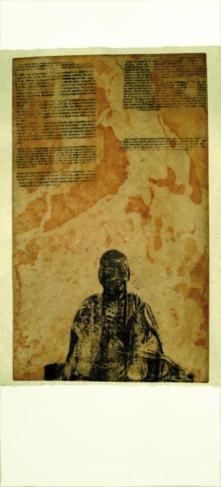 Meditación |Obra gráfica de Prado de Fata | Compra arte en Flecha.es