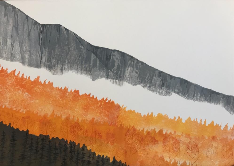 Otoño |Pintura de Milena Mateva | Compra arte en Flecha.es
