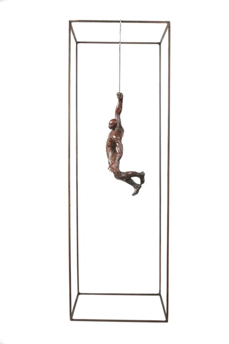 CUELGA IV | Escultura de Fernando Suárez | Compra arte en Flecha.es