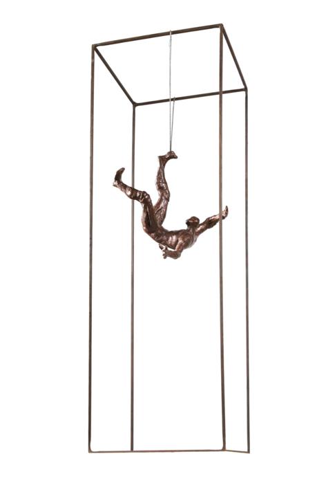 GRAVITACIÓN III | Escultura de Fernando Suárez | Compra arte en Flecha.es