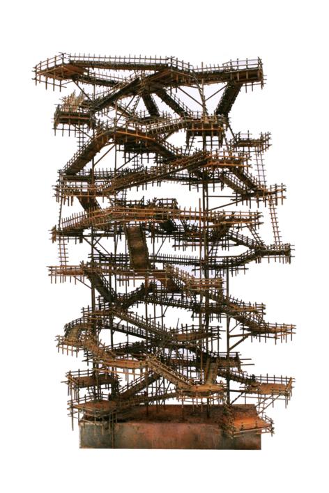 LABERINTOS | Escultura de Fernando Suárez | Compra arte en Flecha.es