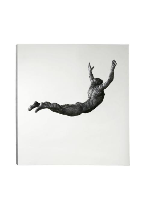 SALTO AL VACÍO | Escultura de Fernando Suárez | Compra arte en Flecha.es