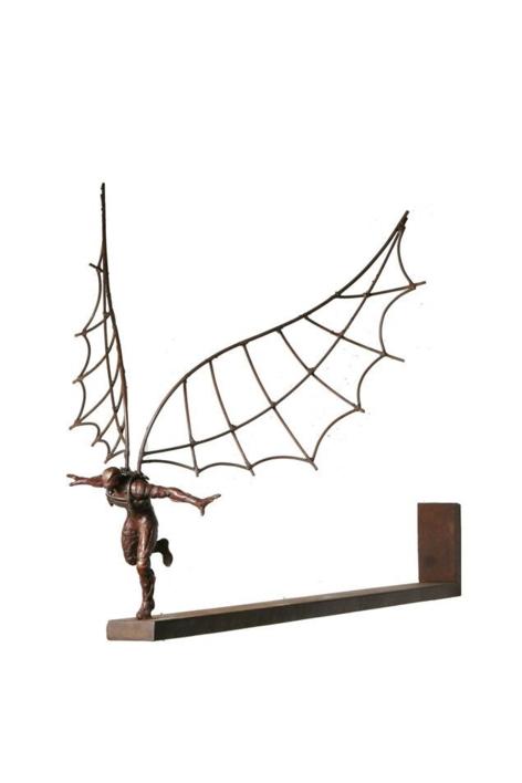 ICARO III |Escultura de Fernando Suárez | Compra arte en Flecha.es