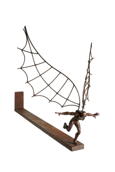 ICARO III | Escultura de Fernando Suárez | Compra arte en Flecha.es