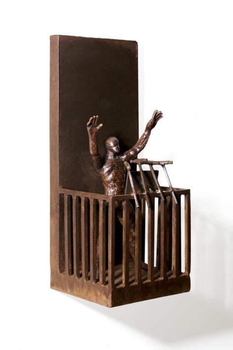 BLA BLA BLA |Escultura de Fernando Suárez | Compra arte en Flecha.es