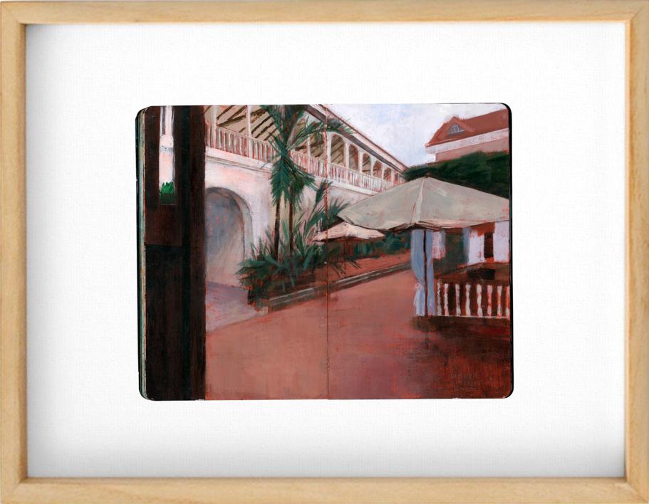 White Knight Hotel |Obra gráfica de Pablo Colomo | Compra arte en Flecha.es