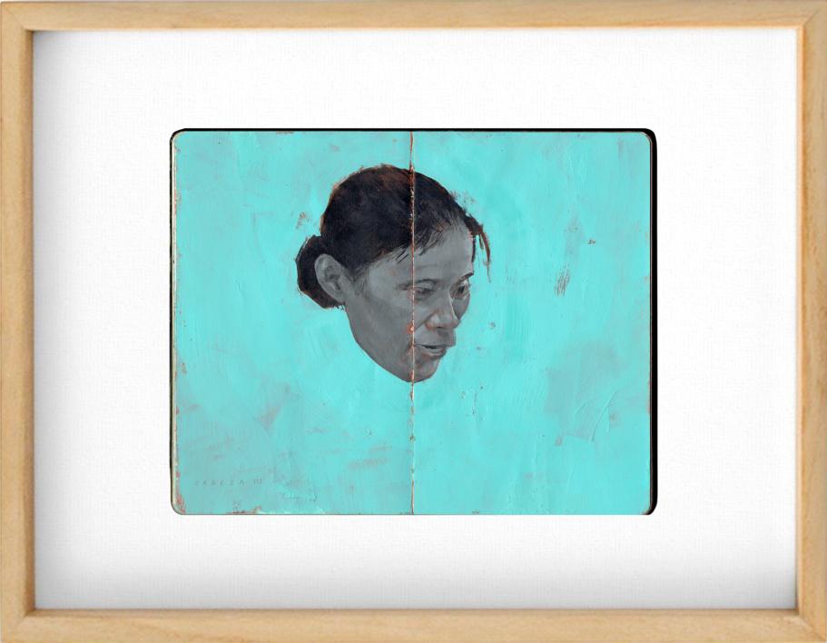 Cabeza III |Obra gráfica de Pablo Colomo | Compra arte en Flecha.es