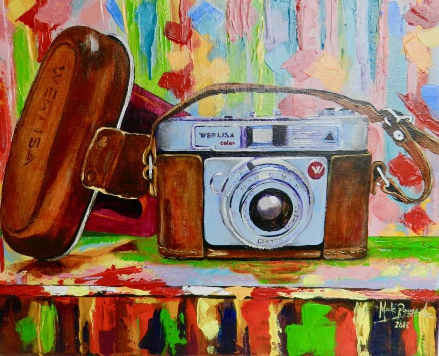 Camara |Pintura de Maite Rodriguez | Compra arte en Flecha.es