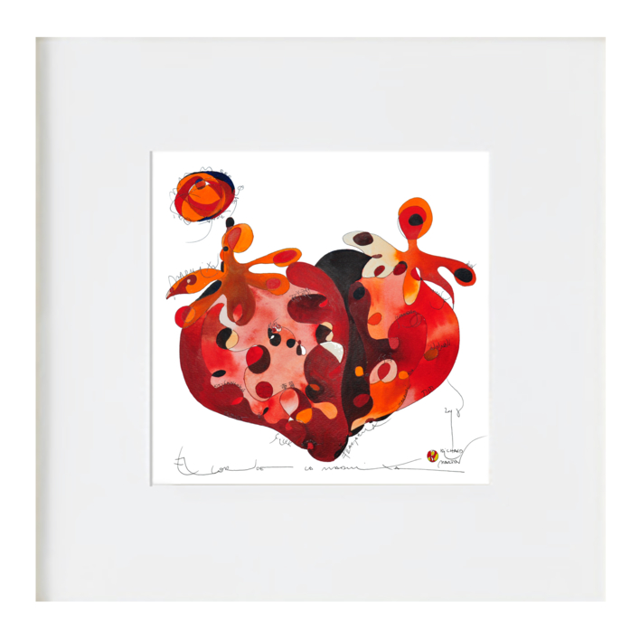 Maduixa - Fresa |Ilustración de RICHARD MARTIN | Compra arte en Flecha.es
