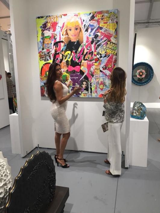 Sara Arnaout_Pop Icon | Collage de Raul Eberhard | Compra arte en Flecha.es